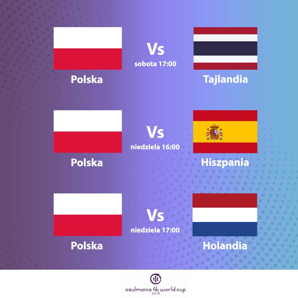 mecze polska I faza